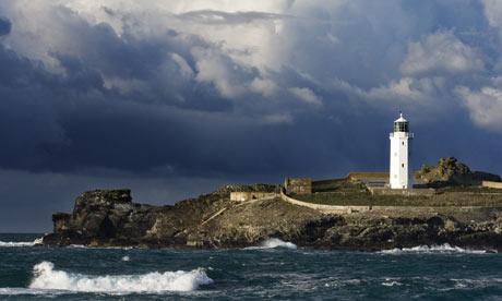 Esta zona de la costa de Cornualles inspiró Al faro, de Virginia Woolf