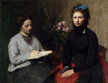 La lectura, de Henri Fantin-Latour