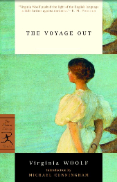 Portada de The Voyage Out en la edición de Random House de 2001