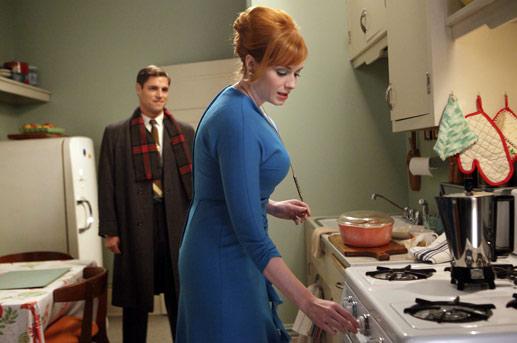 Greg y Joane en la cocina