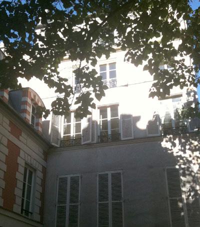 La ventana de Madame Olenska